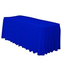 Pandoli Lacivert Renk Plastik Masa Eteği