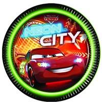 Pandoli Cars Neon Tabak 23 Cm 8 Adet
