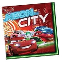 Pandoli Cars Neon Peçete 20 Li
