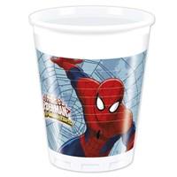 Pandoli Ultimate Spiderman Plastik Bardak 8 Adet