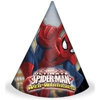 Pandoli Ultimate Spiderman Külah Şapka 6 Adet