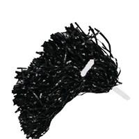 Pandoli 1 Çift Siyah Renk Gösteri Ponponu