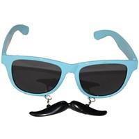 Pandoli Açık Mavi Bıyıklı Gözlük