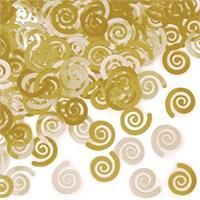 Pandoli Girdap Şekilli Sarı Renk Masa Üzeri Serpme Konfeti 15 Gr