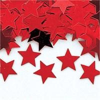 Pandoli Yıldız Figürlü Kırmızı Renk Masa Üzeri Serpme Konfeti 15 Gr