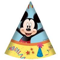 Pandoli Mickey Carnival Külah Şapka 6 Adet