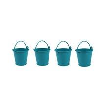 Pandoli 1 Adet Galvaniz Kurabiye Kovası Minik 5 Cm Mavi Renk