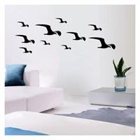 Artikel Rain Bırd Kadife Duvar Sticker Dp-063 ve Tuz boyama