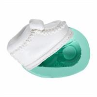 Kurdelya Fiyonklu Bebek Ayakkabısı Silikon Kalıbı