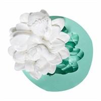 Kurdelya Çiçekte Yan Yatan Bebek Silikon Kalıbı