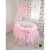 Bebekonfor Dora Beyaz Meliza Bebek Beşiği