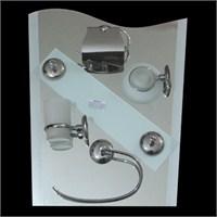 Banyo Ayna Seti 43x53 cm 6 Parça Model 241