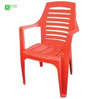 Bunjee Nirvana Lüks Plastik Sandalye Kırmızı