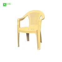 Bunjee Aqua Plastik Sandalye Bej