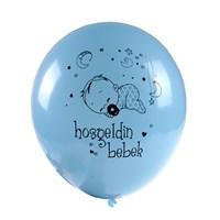 KullanAtMarket Hoşgeldin Bebek Mavi Balon