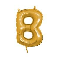 KullanAtMarket B Harf Altın Folyo Balon
