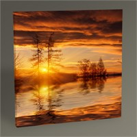 Tablo 360 Nice Sunset Tablo 30X30