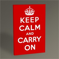 Tablo 360 Keep Calm And Carry On 45X30