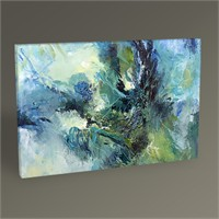 Tablo 360 Cool Blue Abstract 45X30