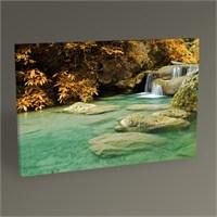 Tablo 360 Waterfall İn The Autumn 45X30