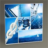 Tablo 360 Yacht Collage Tablo 30X30
