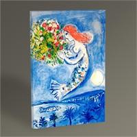 Tablo 360 Marc Chagall La Baie Des Anges 45X30