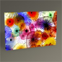 Tablo 360 Dekoratif Çiçekler Tablo 45X30