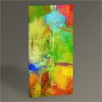 Tablo 360 Renkli Soyut Yağlı Boya Tablo 60X30