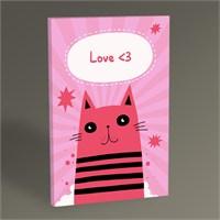 Tablo 360 Pink Cat Tablo 45X30