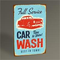 Tablo 360 Car Wash Tablo 45X30