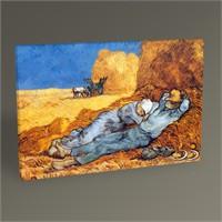 Tablo 360 Vincent Van Gogh La Siesta Tablo 45X30