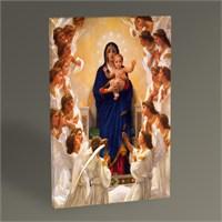 Tablo 360 William Bouguereau Vierge Aux Anges 45X30