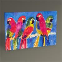 Tablo 360 Papağanlar Iı Tablo 45X30