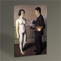 Tablo 360 Rene Magritte Attempting The Impossible 45X30