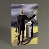 Tablo 360 Rene Magritte The Man Of The Sea 45X30