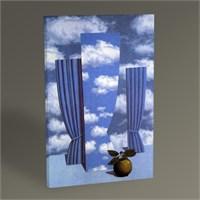Tablo 360 Rene Magritte Le Beau Monde 45X30