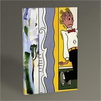 Tablo 360 Roy Lichtenstein Two Paintings Dagwood 45X30