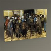 Tablo 360 Vincent Van Gogh The Pour And Money Tablo 45X30