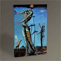 Tablo 360 Salvador Dali The Burning Giraffe 45X30