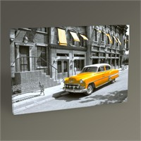 Tablo 360 Sarı Cadillac Tablo 45X30