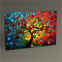 Tablo 360 Abstract Tree Tablo 45X30