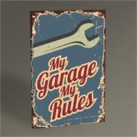 Tablo 360 My Garage My Rules Tablo 45X30