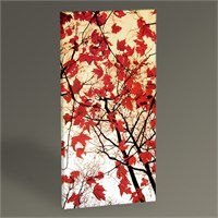 Tablo 360 Bare Branches And Red Maple Leaves 60X30