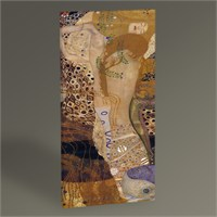 Tablo 360 Gustav Klimt Wasserschlangen Tablo 60X30