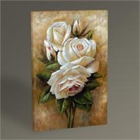 Tablo 360 Beyaz Güller Tablo 45X30