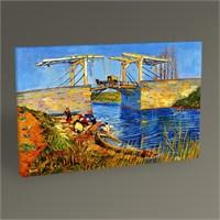Tablo 360 Vincent Van Gogh-Bridge At Arles Tablo 45X30