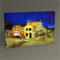 Tablo 360 Vincent Van Gogh-Yellow House Tablo 45X30