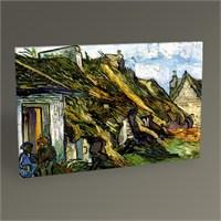 Tablo 360 Vincent Van Gogh-Village Street İn Aunvers Tablo 45X30