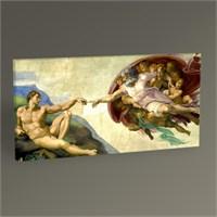 Tablo 360 Michelangelo The Creation Of Adam-Tablo 60X30