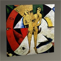 Tablo 360 Marc Chagall Homage To Apollinaire Tablo 30X30